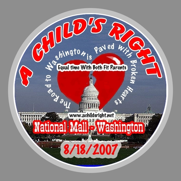 A Child's Right:  Equal time with both fit and willing parents after a divorce!!