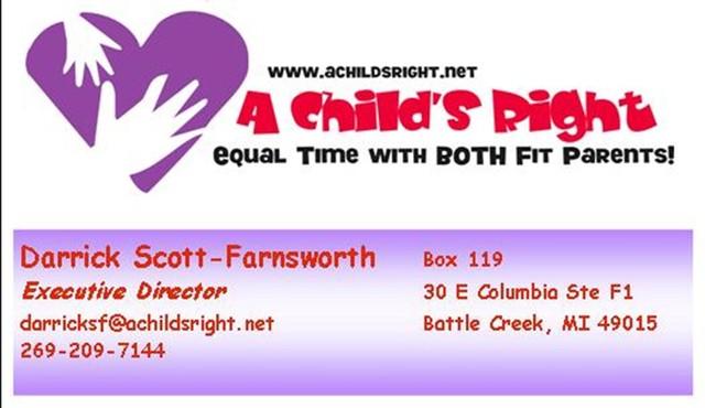 A Child's Right Executive Director Darrick Scott-Farnsworth