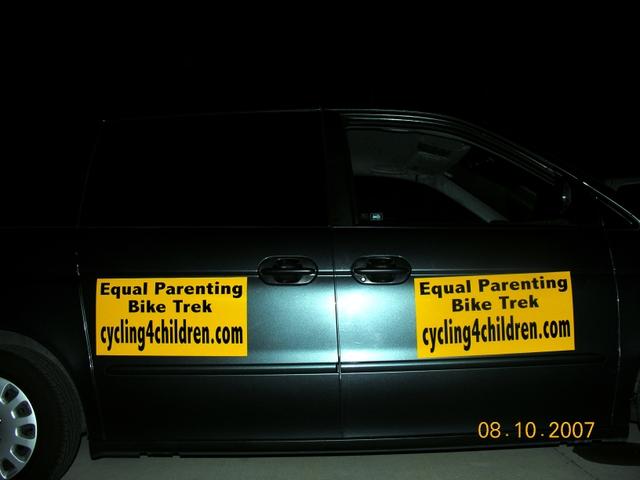 Equal Parenting Bike Trek Media/Supply Van