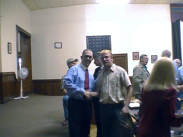 Robert Pedersen and Larry Holland