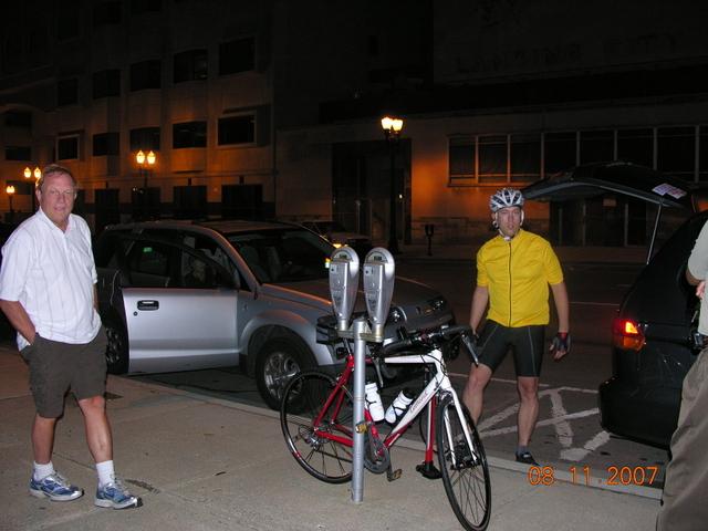 Early Lansing Arrival for the start of the 700 mile Equal Parenting Bike Trek